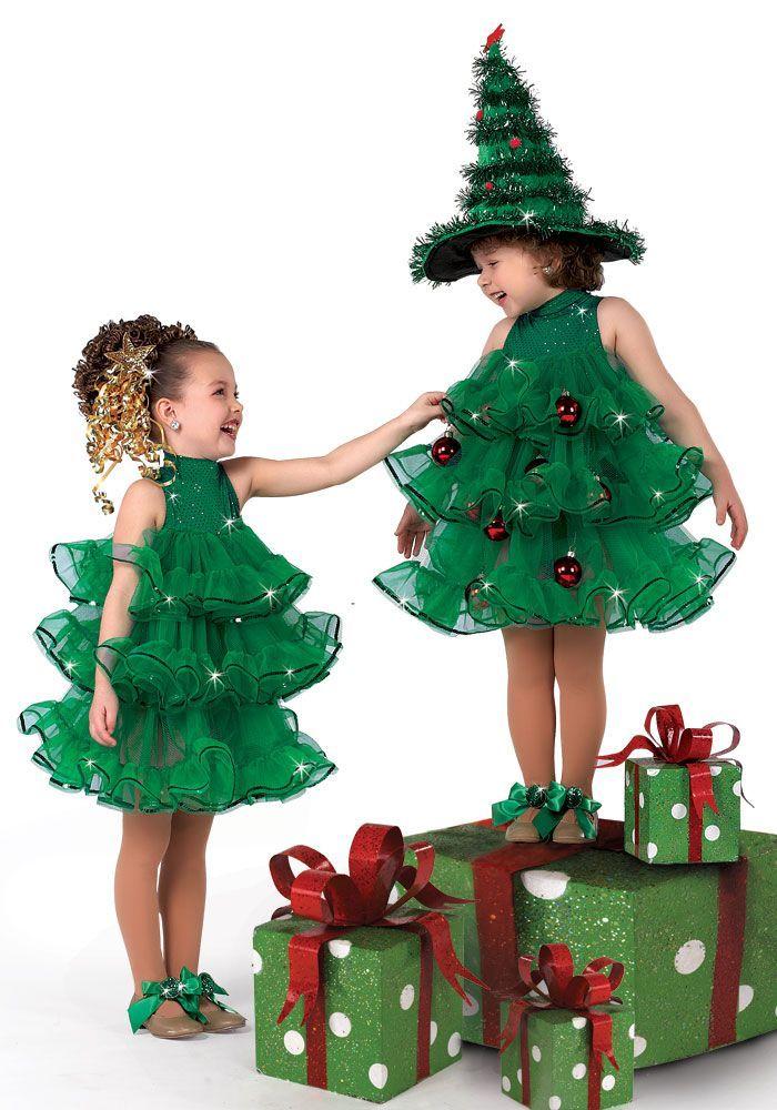 Disfraz arbol de navidad xmas tree moda para antonia - Disfraces para navidad ...