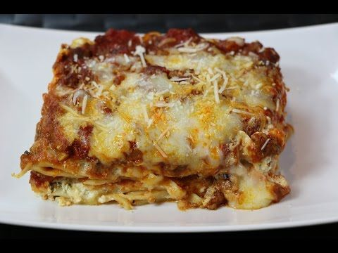 How to Make Lasagna - The BEST Lasagna Recipe You Will Find - YouTube