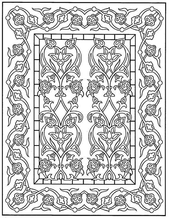 Kleurplaten Voor Volwassenen Tegels.Kleurplaat Tegels Kleuren Voor Volwassenen Pinterest Mandalas