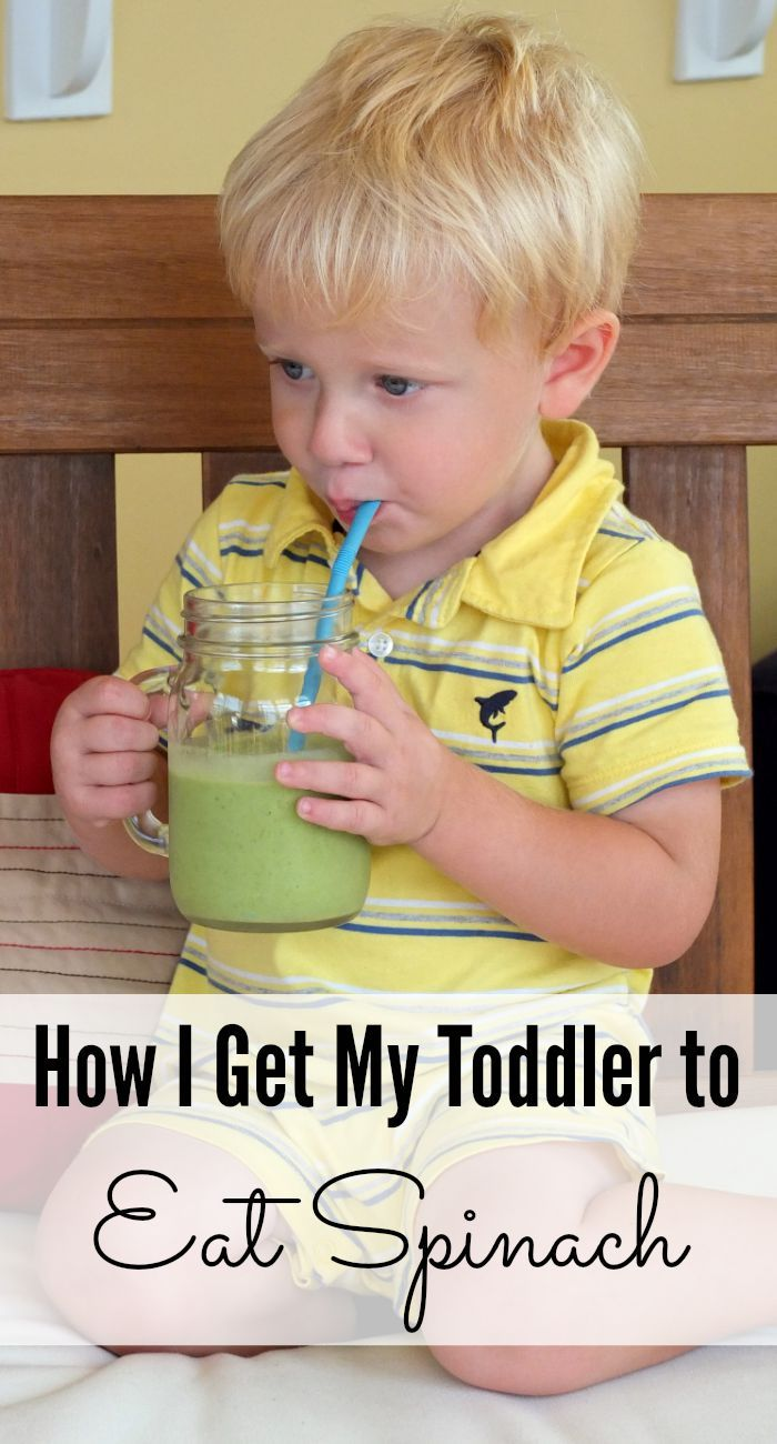 A simple recipe that will have even the pickiest toddler eating spinach and green veggies in no time!