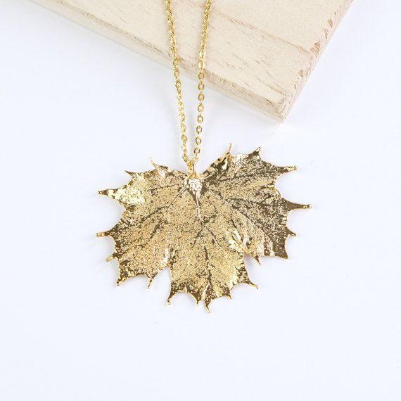 Maple genuine leaf necklace leaf pendant silver leaf rose gold maple genuine leaf necklace leaf pendant silver leaf rose gold leaf aloadofball Images