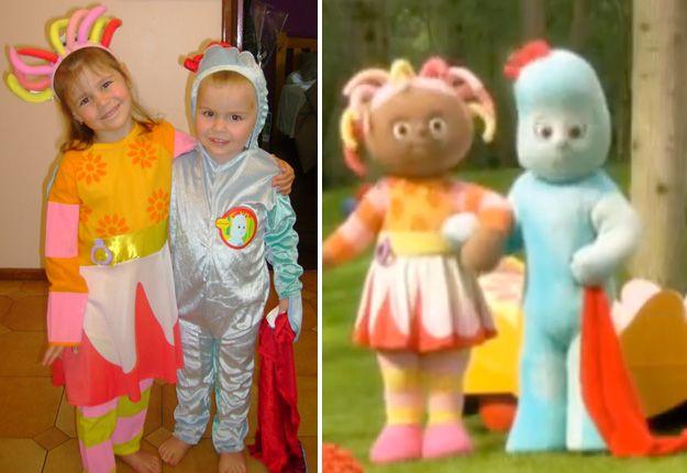 Iggle piggle and Upsy Daisy costume | Kids fancy dress ideas ...