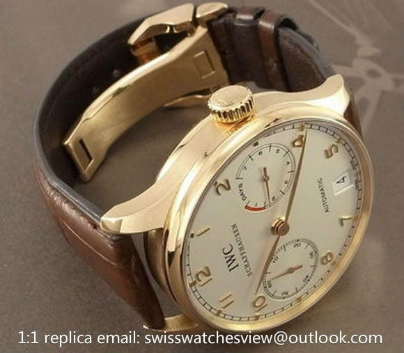 IWC Portuguese 7 Days Power Reserve rose gold IW500101