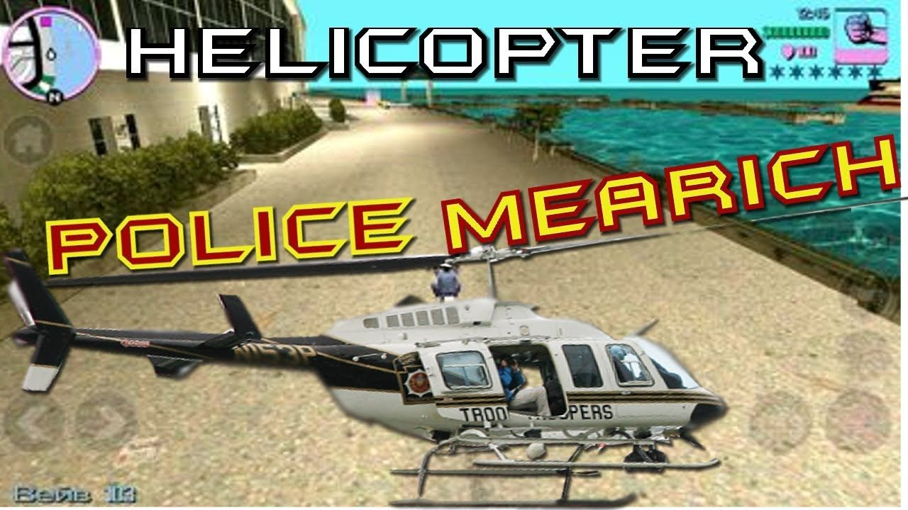 GTA Vice City - How to Get Police Helicopter #GrandTheftAutoV #GTAV