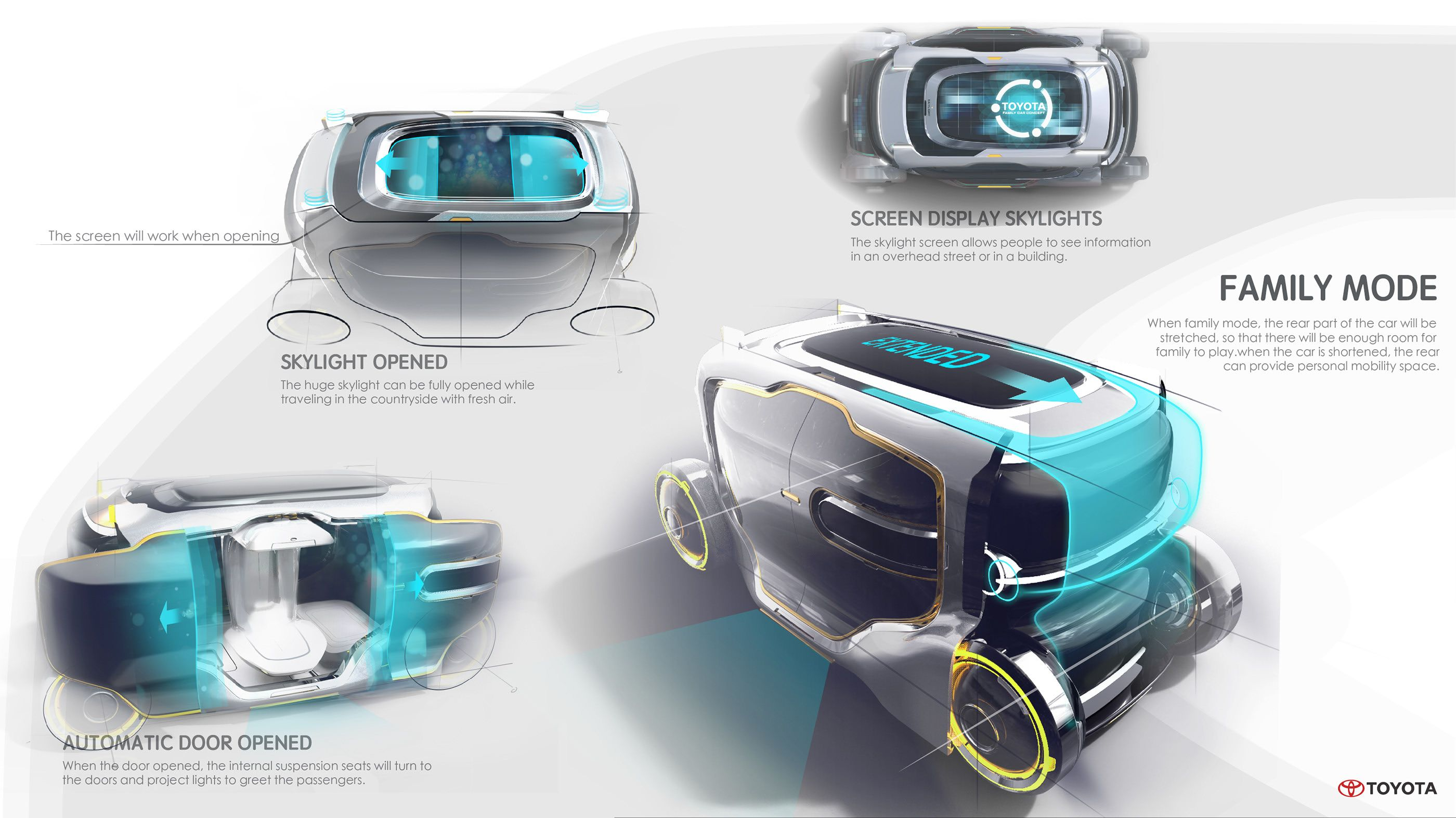 TOYOTA Family Concept 2030 on Behance
