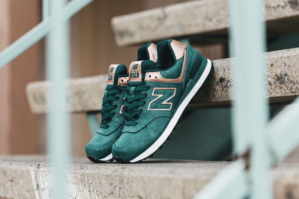 new balance 574 emerald