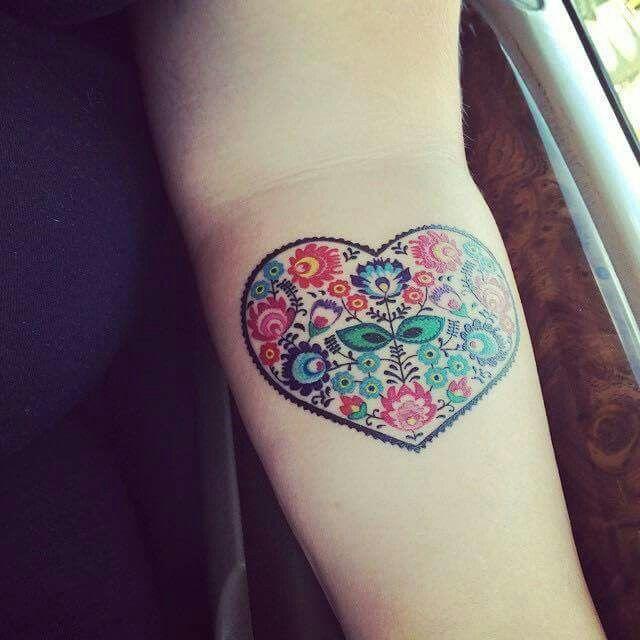 Polish Folk Art Tattoo Creative Tattoos Tattoos Art Tattoo
