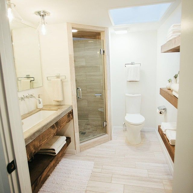 20 Small Bathroom Design Ideas Designs Hgtv Before And: Here's The Master Bath From Last Week's Episode-simple And