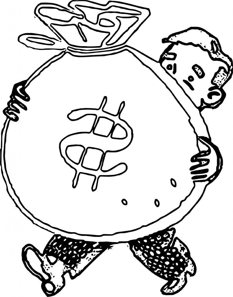 Money Coloring Pages Paper And Coin In 2020 Coloring Pages Pastel Sets Paper