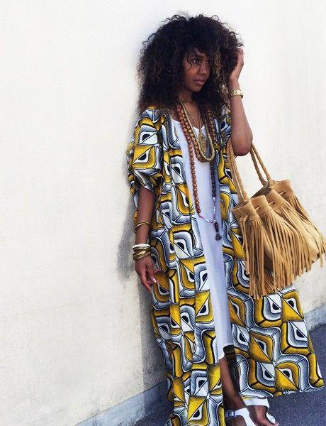 WaxAfrican Kimono Mode AfricaineAfricaine Erebya Paris yvN80OmnPw