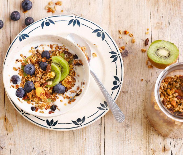 granola recept kokosolja