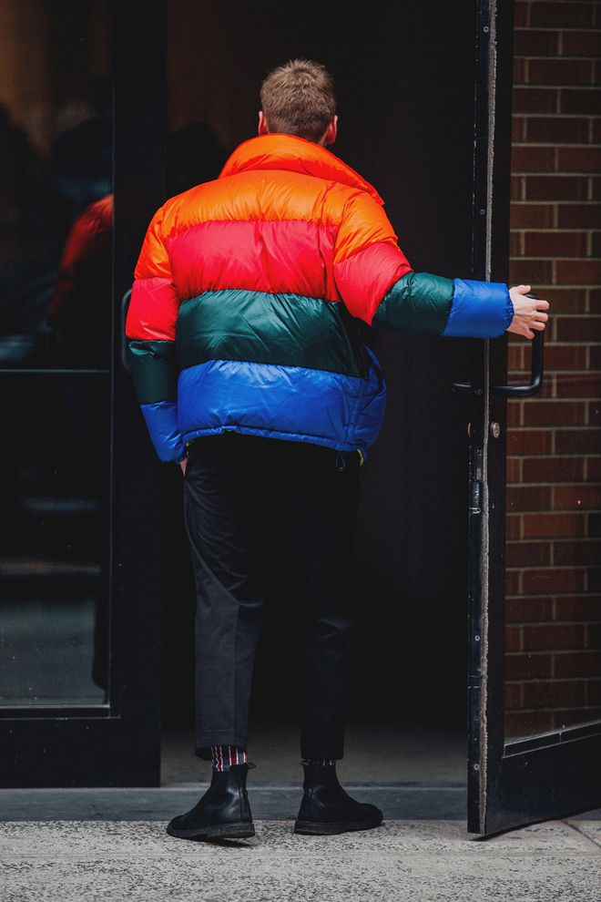Street style Fashion Week homme automne hiver 2018 2019 New York 30
