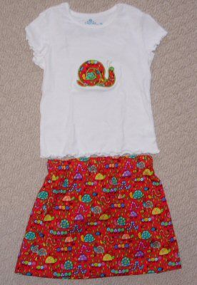 Katherine Sweet Applique Animals Too Outfit