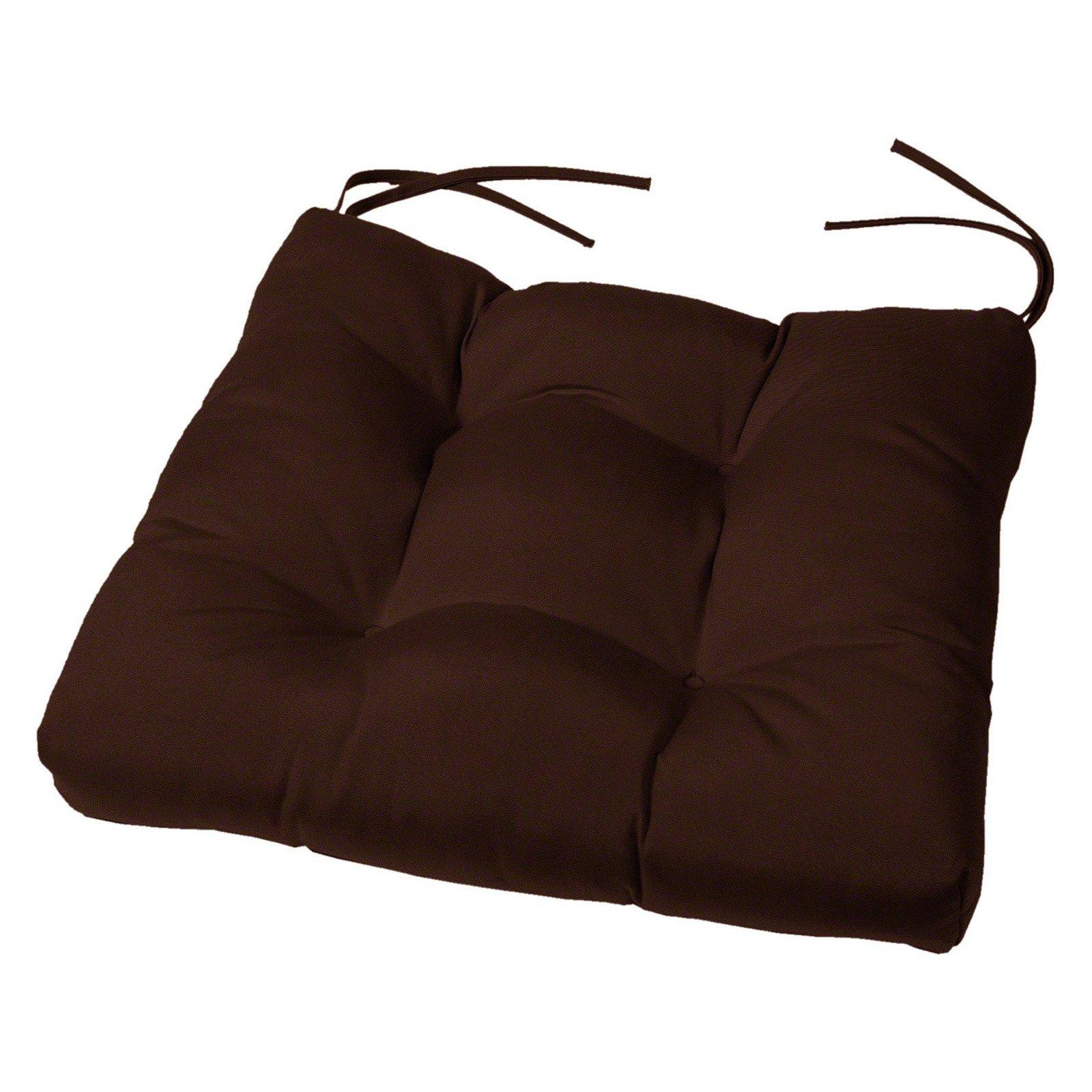 Cushion Source 19 X 18 In Solid Tufted Sunbrella Chair Cushion