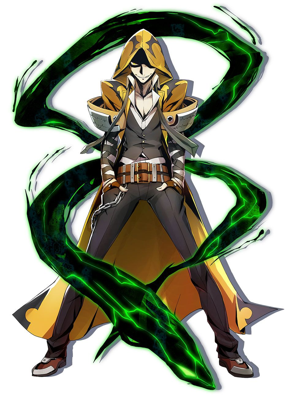 Terumi from BlazBlue: Central Fiction
