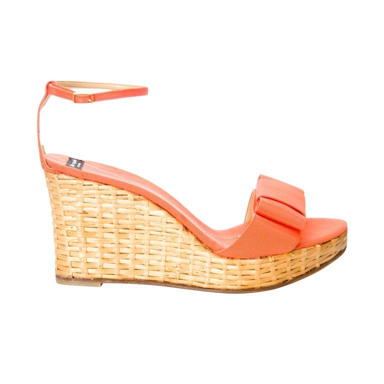 772a10fac New Kate Spade Spring 2005 Collection Wicker Cabo Wedge Heels Sz 9 ...