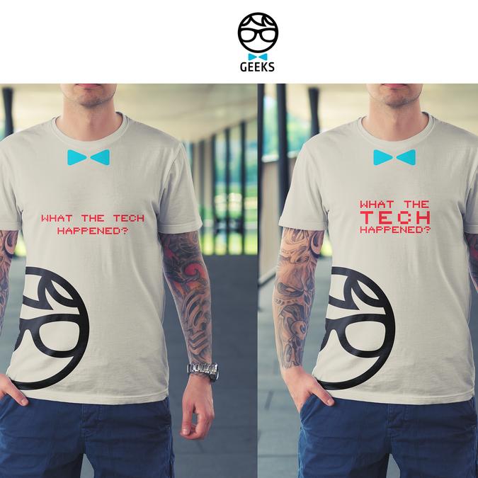 Fun and stylish company t-shirt