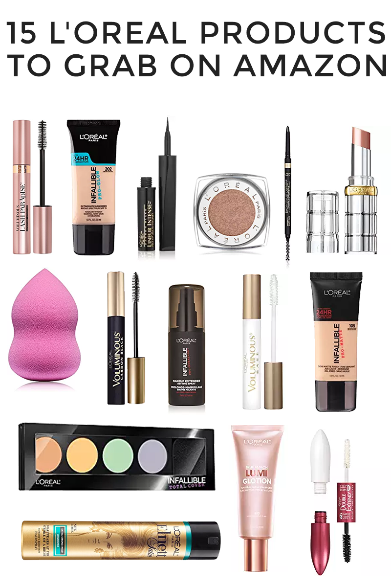 L Oreal On Amazon Did You Know Drugstore Makeup Is Oftentimes Cheaper On Amazon Drugstor Amazon Beauty Products Beauty Products Drugstore Drugstore Makeup