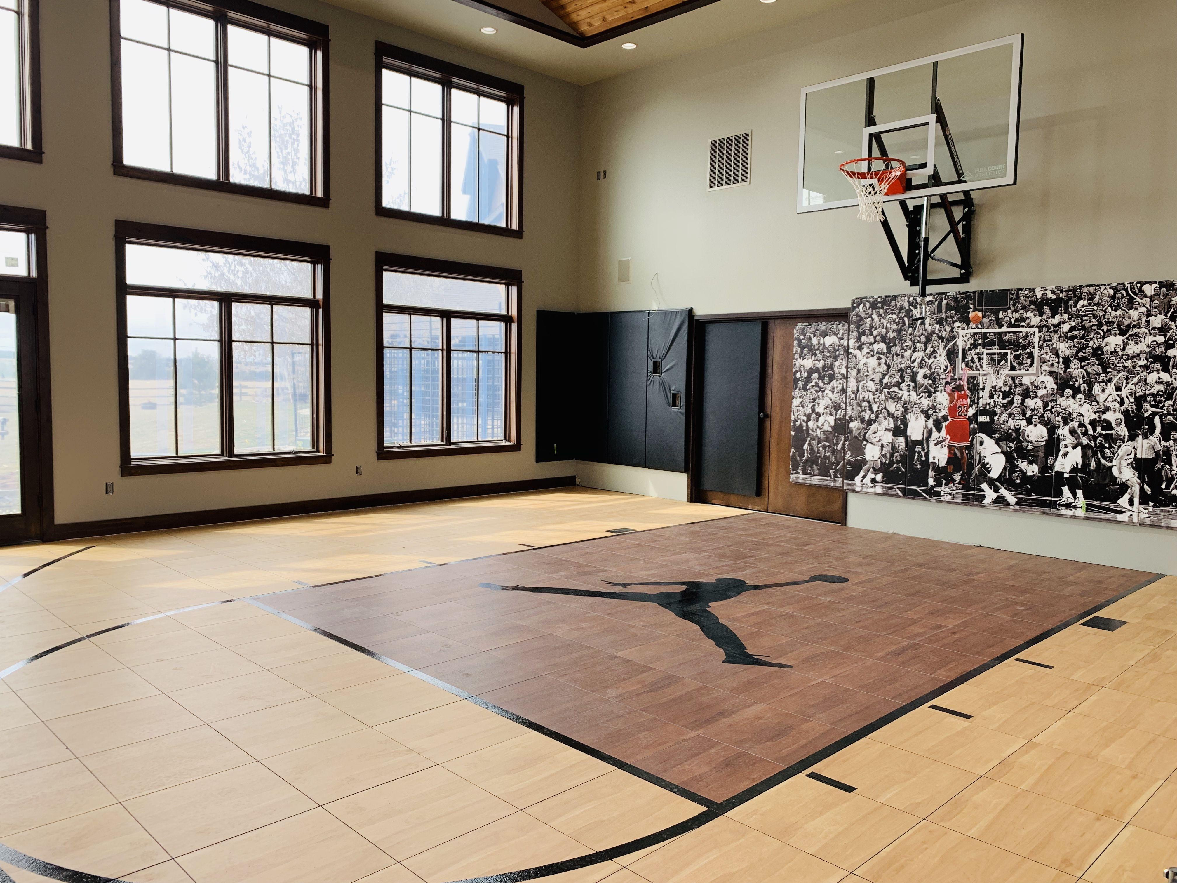 Custom Snapsports Home Gym Home Basketball Court Home Gym Design Workout Room Home