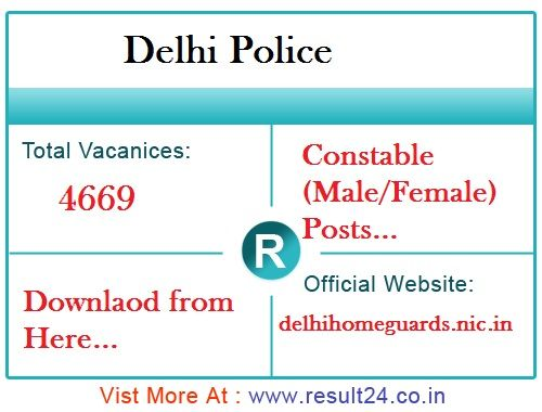 Delhi Police Department Will Conduct Male And Female Constable Executive Exam On 4th March 2017 Download Del Police Officer Requirements Police Police Academy
