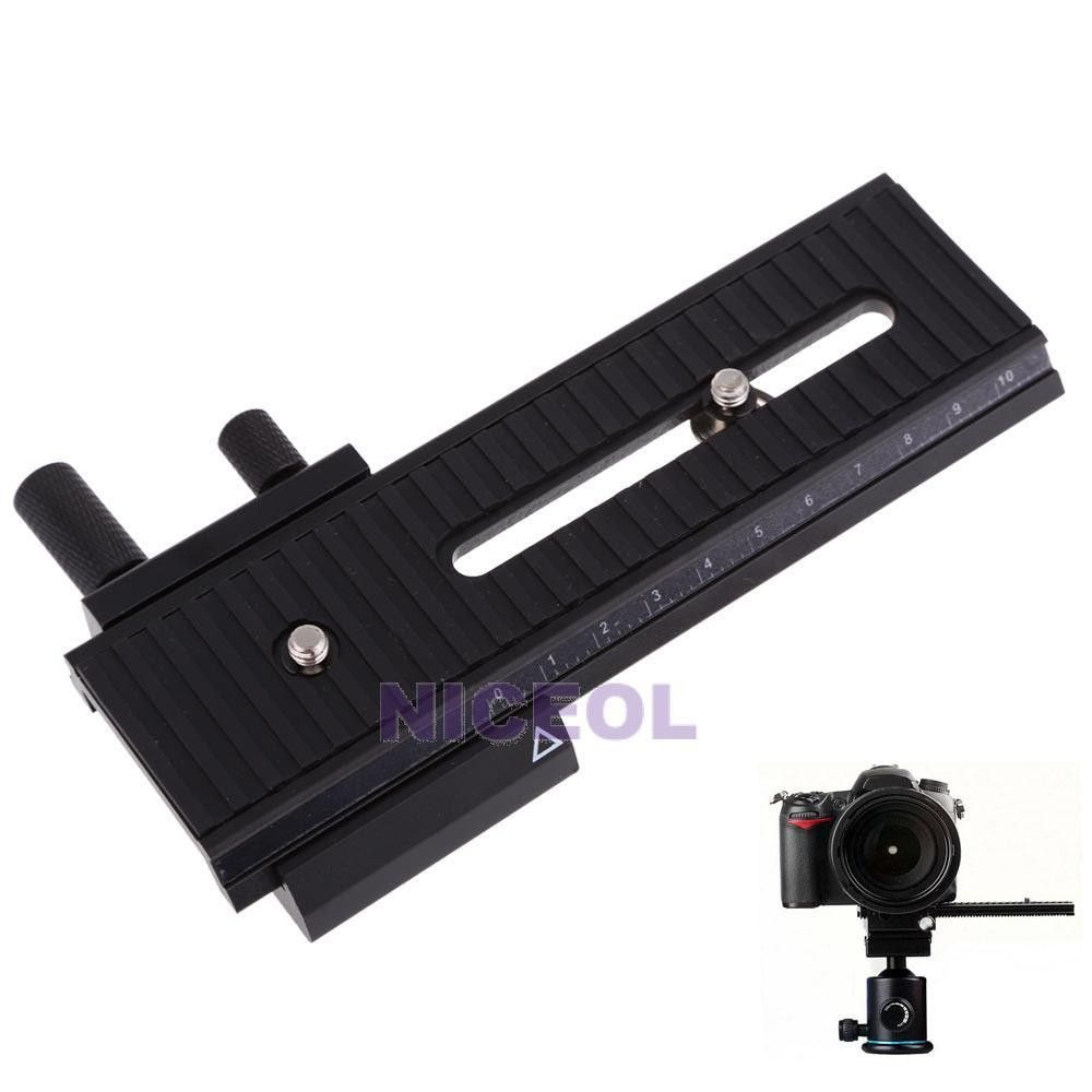 10cm Macro S Focusing Focus Rail Slider for Canon Nikon Sony DSLR Camera