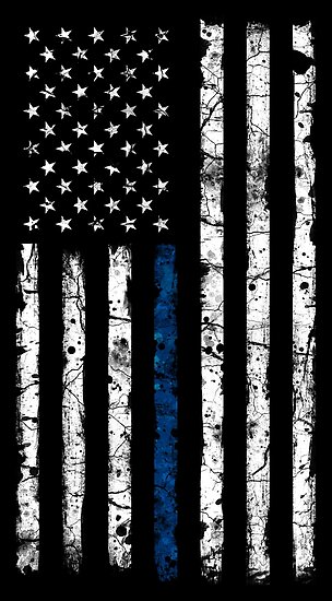 Blue Line White V2 Vertical Poster By Zingarostudios In 2020 American Flag Wallpaper American Wallpaper American Flag Background