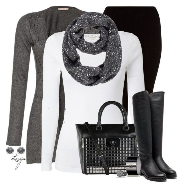 """Graphite Shimmer"" by lagu ❤ liked on Polyvore featuring White Stuff, MICHAEL Michael Kors, Kate Spade, Rupert Sanderson, Reed Krakoff, Tory Burch and David Yurman"