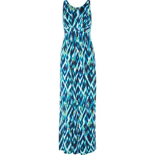 Tart Collections Sher printed stretch-modal maxi dress ($108) ❤ liked on  Polyvore
