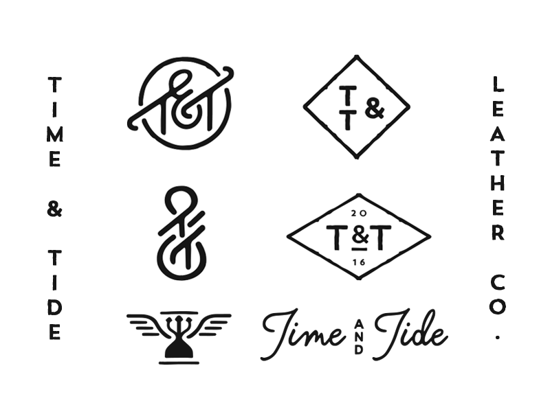 Time And Tide Time And Tide Graphic Design Logo Tide