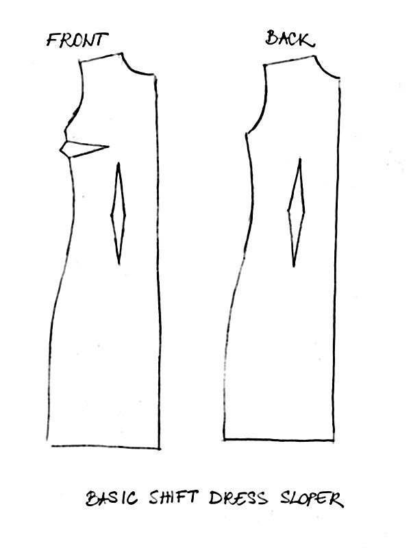 Free Shift Dress Sewing Patterns Buscar Con Google Get Sewing
