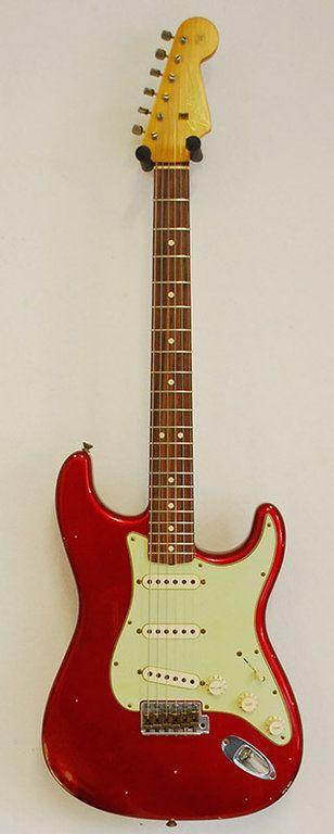 Fender CS Stratocaster 1964 Relic NAMM LTD Candy Apple Red