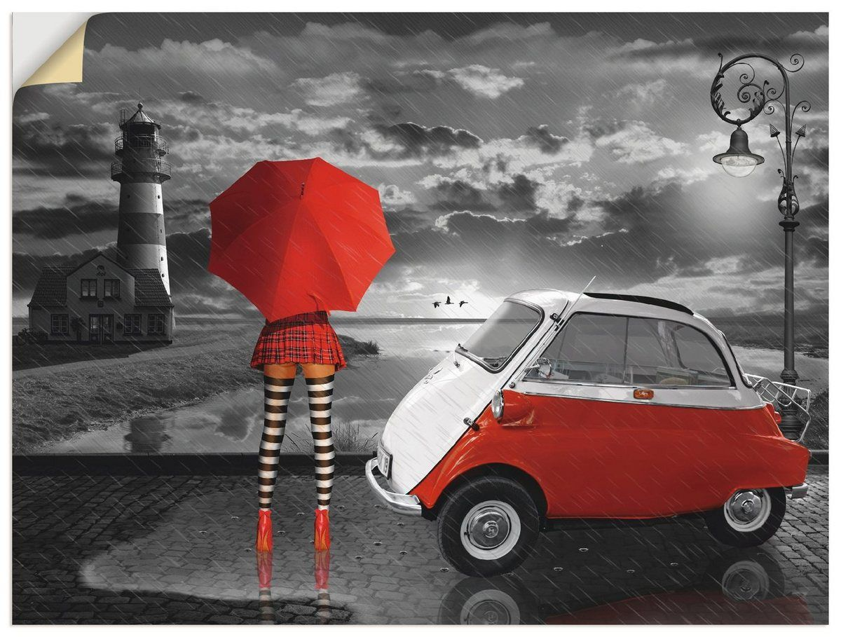 Photo of Buy Artland wall film »Mausopardia: partner look with Isetta« online OTTO
