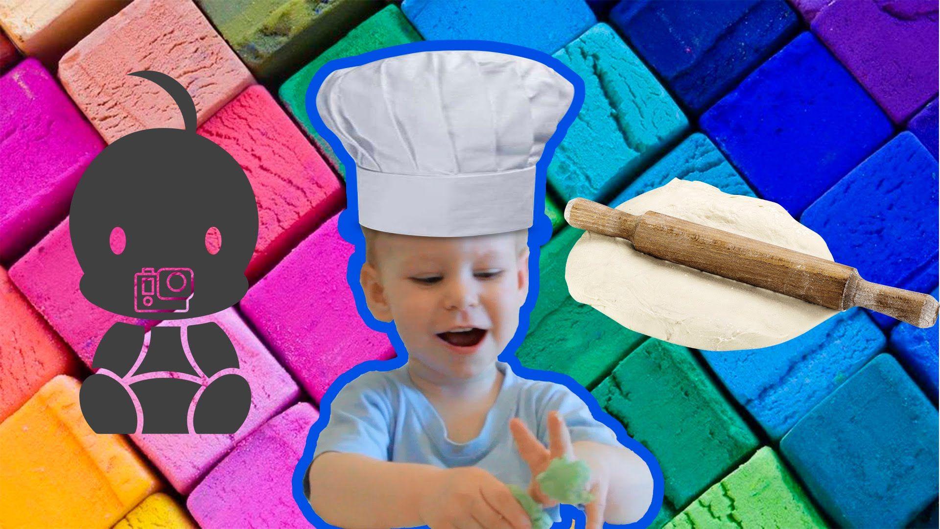 Лепка из теста. Развивающие занятия для малышей: лепка с ...