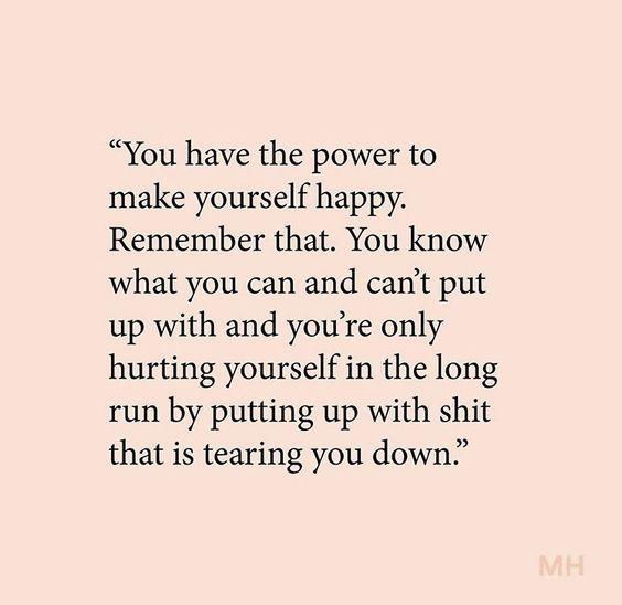 Choose yourself always
