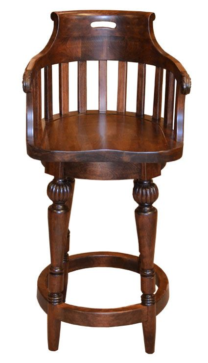 Dining Chairs, Stools, And Benches: Hand Carved Solid Wood