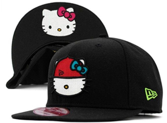Hello Kitty Snapback Hat  05  ae2370fb9a2