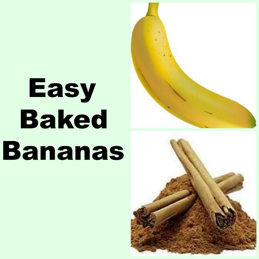 Easy Baked Bananas - My Honeys Place