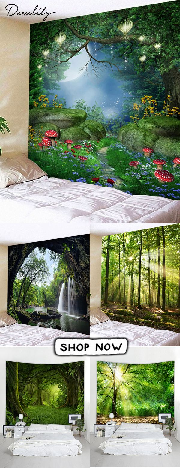 Dresslily wall tapestries to decorate your home.
