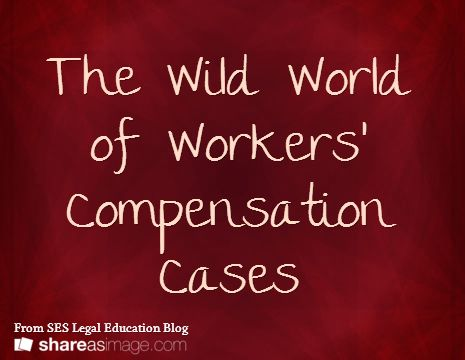 The Wild World of Workersu0027 Compensation Cases - worker compensation form