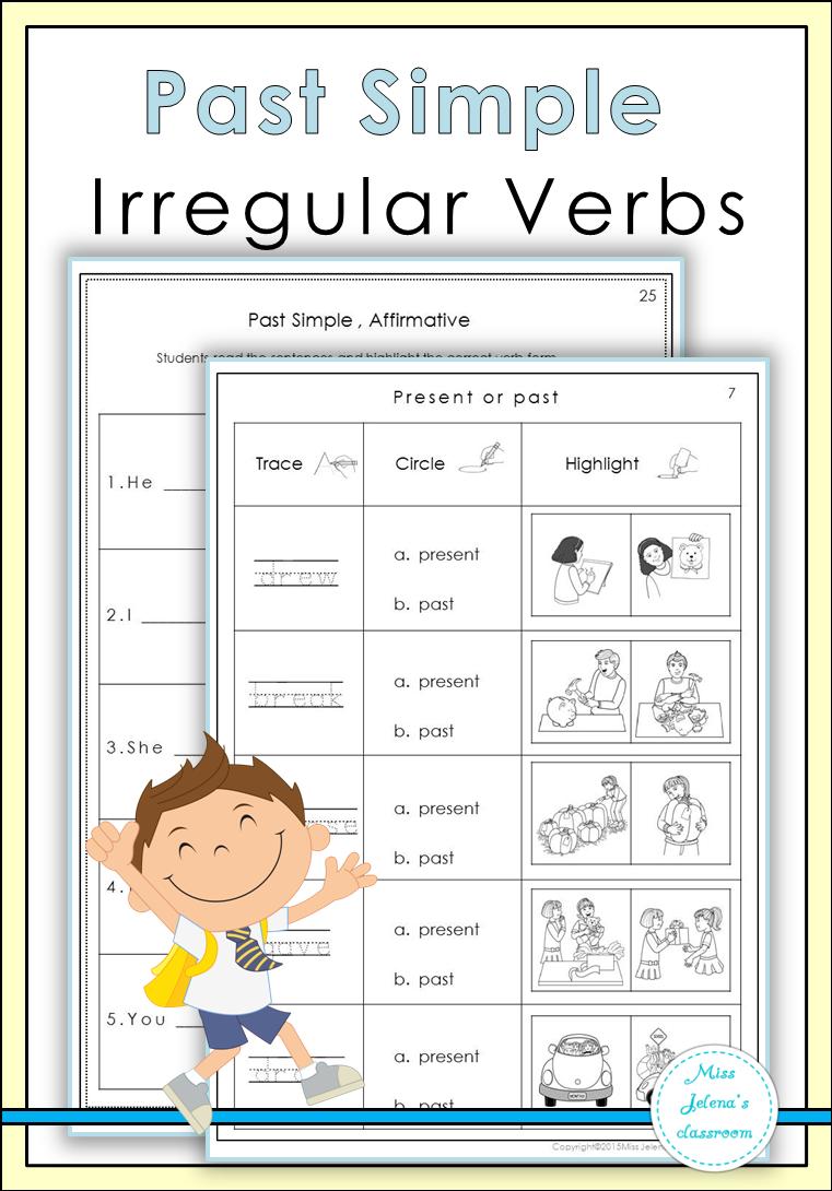 Past Simple Irregular Verbs Irregular Verbs Elementary Worksheets Verb Worksheets [ 1090 x 761 Pixel ]