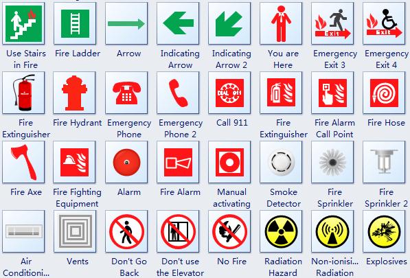Detector Smoke Symbol Autocad Software Escape Plans Plan Download