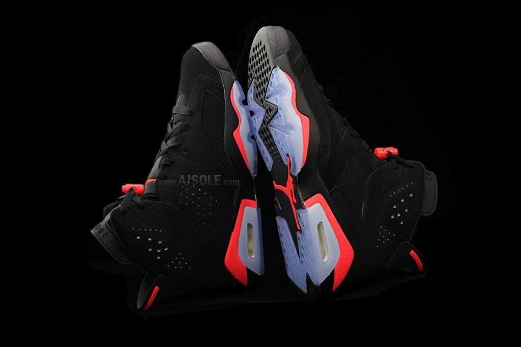 a95e160689f08 Air Jordan VI 6 Black Infrared Release Date 384664-023 (3)