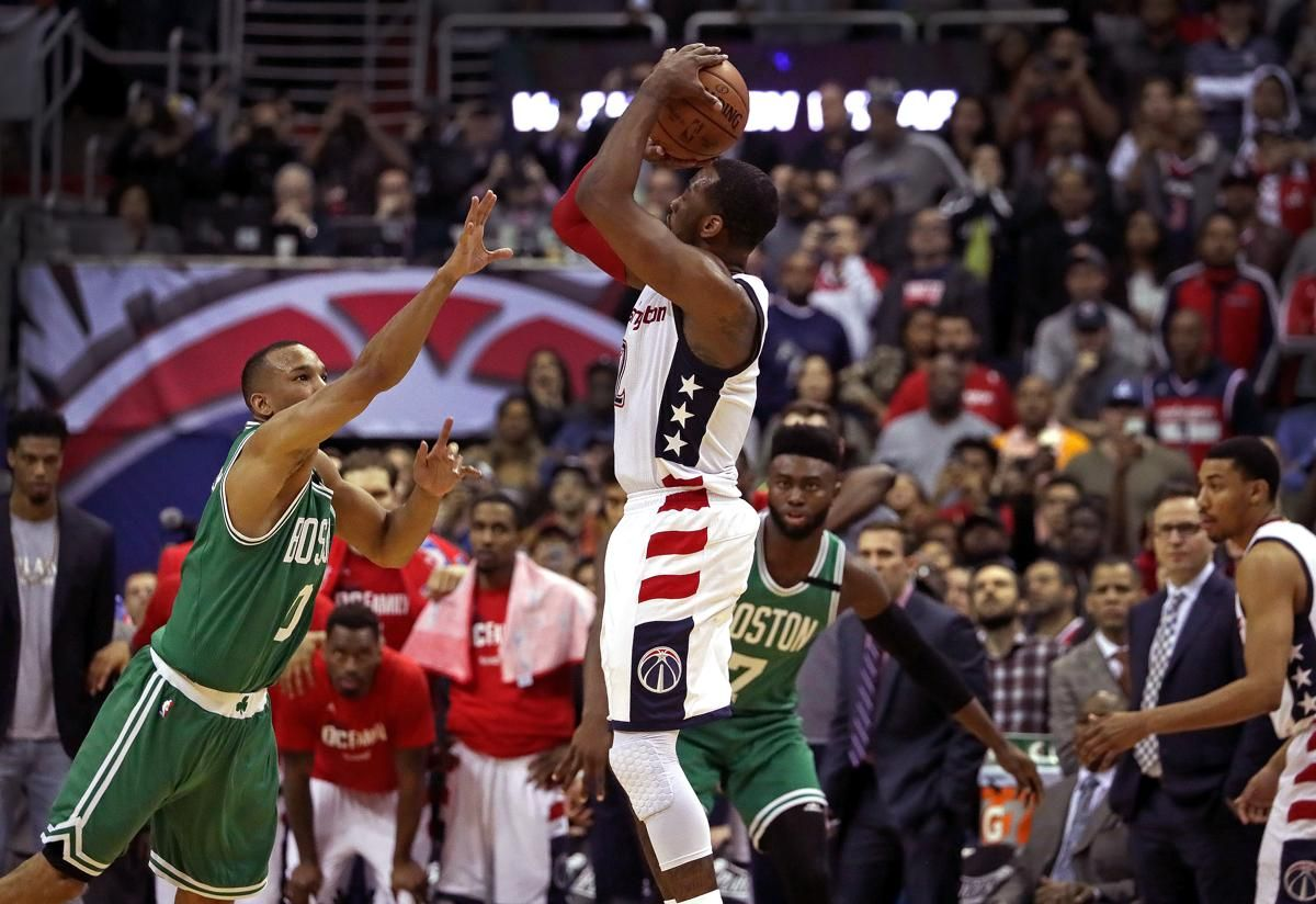 Wizards beat Celtics on John Wall's 3pointer, force Game