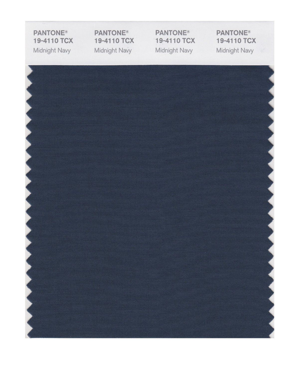 True Blue Paint Color Pantone Smart 19 4110x Color Swatch Card Midnight Navy House