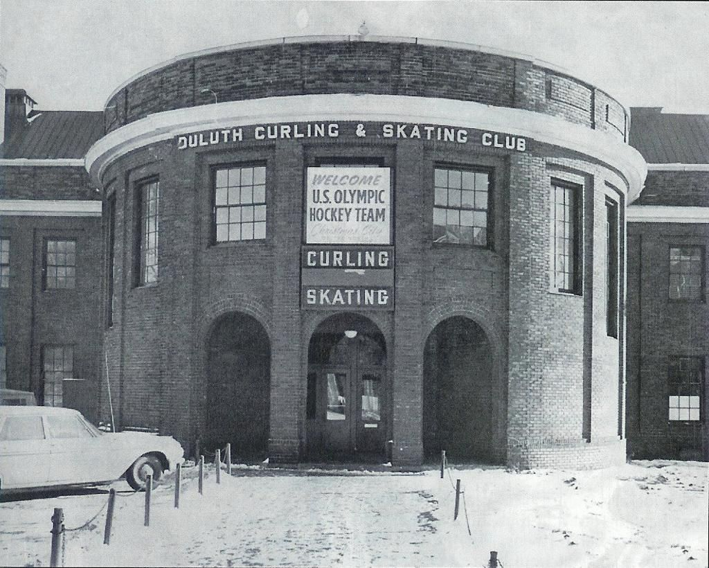 Duluth Curling And Skating Club Duluth Arenas Vintage
