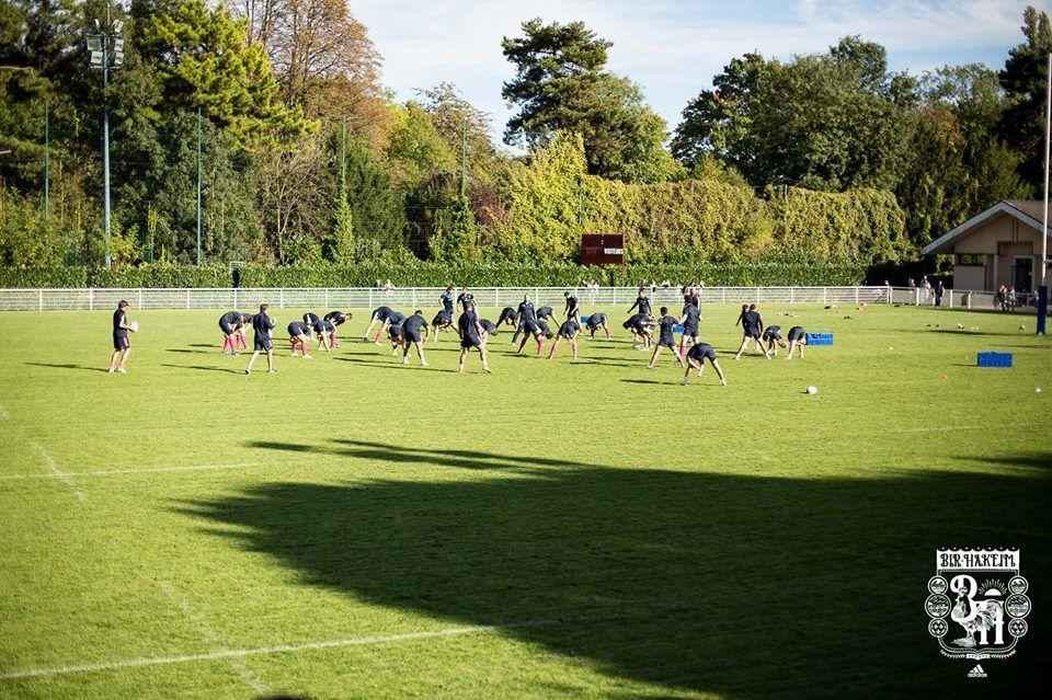 #boostbirhakeim - Training - Rencontre avec le Stade Français - Julien Spiaut©