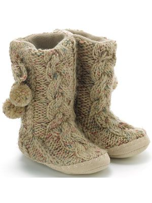 45a62a301a9 would love a pair of slipper boots like this! ***Hint hint they have ...