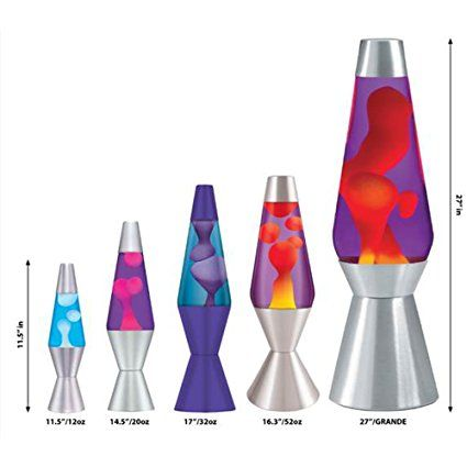 Amazon Com Lava Lite 2421 14 5 Pulgadas Lampara De Lava De Zebra Hot Pink Wax Transparente Liquido Home Improvement Cool Lava Lamps Lava Lamp Glitter Lamp