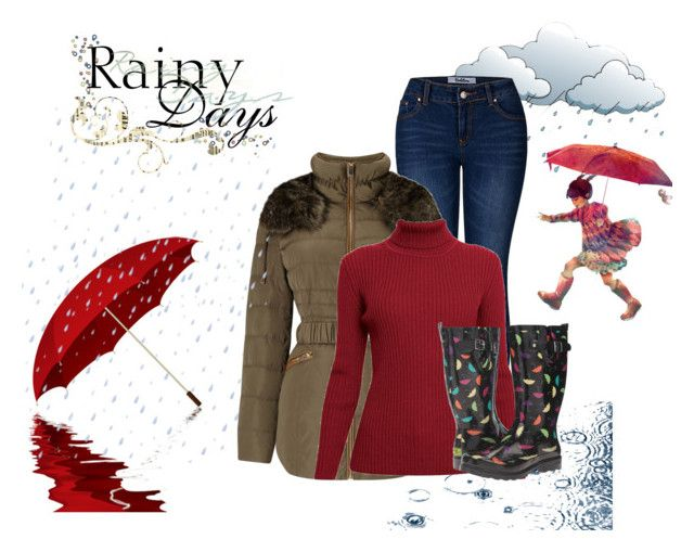 """""""Rainy days"""" by janie-xox ❤ liked on Polyvore featuring 2LUV, Phase Eight, Rumour London and Western Chief"""