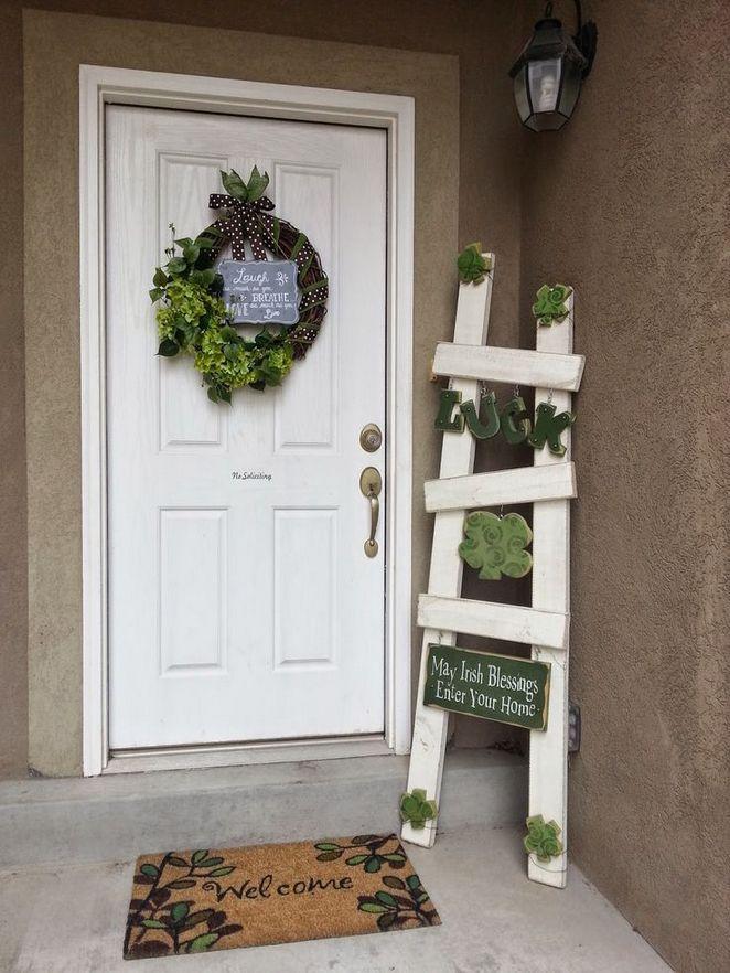 15 St.Patrick's Day Front Door Decorations - Shelterness  |Ireland Door Decorations